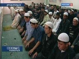 Мусульман Архангельска задержали после молитвы