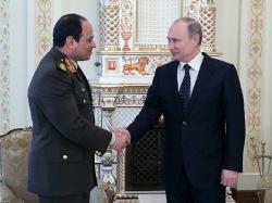 Два фараона - Путин пожелал успехов палачу египетского народа Сиси