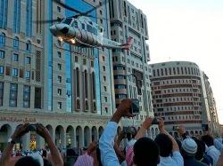 15 паломников погибли при пожаре в гостинице в Саудовской Аравии (ВИДЕО)