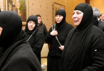 В Сирии освобождены похищенные монахини