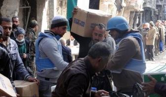 ООН прекратил продовольственную помощь в сирийский лагерь Ярмук