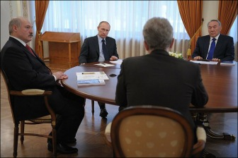 Путин не дождался поддержки по Украине от Назарбаева и Лукашенко