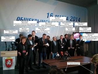 Странные люди выступали в роли международных наблюдателей в Крыму