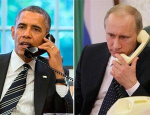 Разговор Путина и Обамы: Информация двух пресс-служб резко отличается