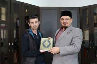 Сопредседатель СМР поздравил мастера восточных единоборств
