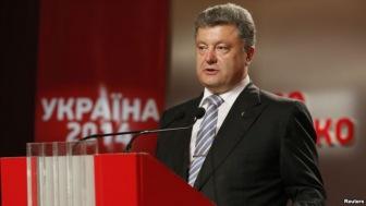 Порошенко объявил о своей победе на выборах президента Украины