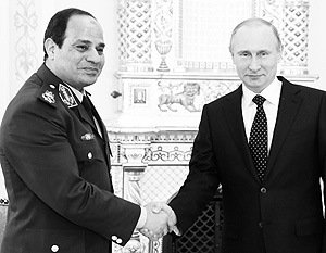 Дэвид Херст сравнил ас-Сиси с В.В. Путиным