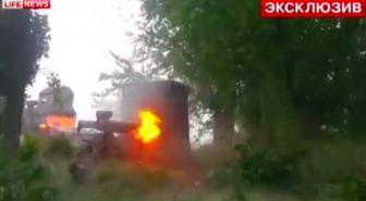 Журналист LifeNews во время боя командует сепаратистами