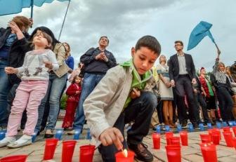 18 мая в Симферополе состоялся траурный митинг, посвященный 70-й годовщине депортации крымских татар из Крыма