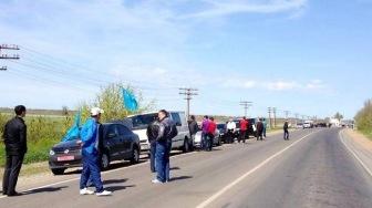Крымские татары ездили голосовать за президента Украины