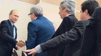 Ленур Усманов и другие предатели встретились с Путиным