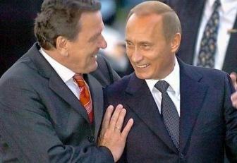 Шредер призвал Запад дружить с Путиным