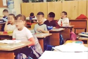 Самарская школьница выложила в соцсети видео, на котором первоклассников учат фашистским жестам