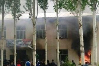 На юге Таджикистана начались массовые беспорядки