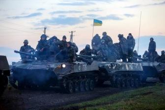 Из Славянска сообщают о продвижении военных в центр города