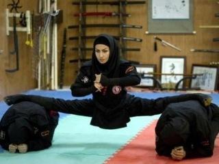 «Железные леди» в хиджабе