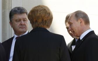 Путин о Порошенко: настрой у него правильный