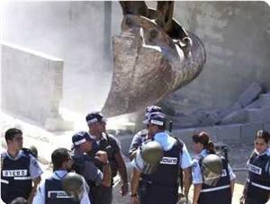 """""""Израиль"""" снес еще один палестинский дом"""