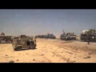 Видеокадры: бегство вооруженных сил Нури аль-Малики из Мосула