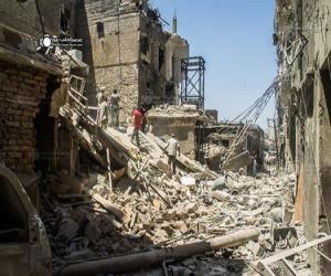 Бойня в Алеппо: 12 авианалётов