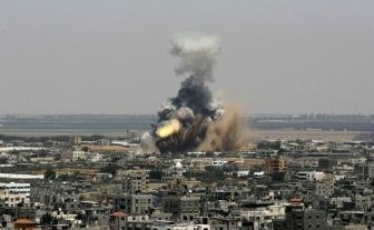 17 тыс. палестинцев укрывались от атаки Израиля