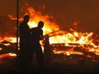 Люди в масках сожгли единственную мечеть столицы Калмыкии