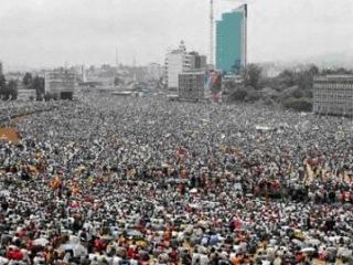 Мусульмане Эфиопии протестуют против навязывания им сектантских взглядов Хабашитов