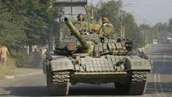 Киев обвиняет Москву в военном вторжении на Украину