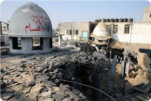 """""""Израиль"""" целенаправленно уничтожает мечети в Секторе Газа"""