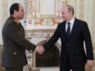 Встреча единомышленников - Путин примет Сиси в Сочи