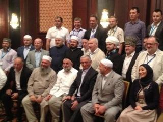 Встреча российских мусульманских религиозных и общественных деятелей с шейхом Али аль-Карадаги