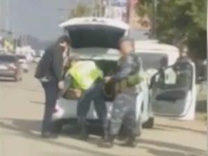 Видео задержания Надыра абу Халида