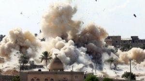В Египте сносят дома на границе с Газой