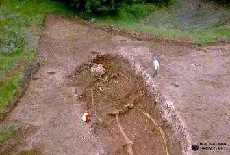 В Краснодарском крае нашли захоронения людей ростом в 3 метра