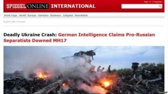 "Spiegel: ""Боинг"" MH17 сбили пророссийские сепаратисты"
