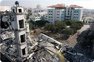 """Странный алгоритм: """"Израиль"""" разрушает Газу, весь мир потом думает, как её воссоздать"""