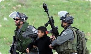 Сионисты сначала сбили на джипе палестинского мальчика, а потом его... арестовали