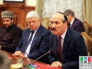 Абдулатипов зачем-то встретился с религиозными лидерами Северного Кавказа