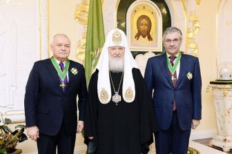Главному лжецу страны вручили церковную награду