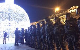 В Москве прошел митинг в поддержку Навальных. Манежная зачищена