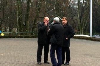 Геннадию Зюганову в Страсбурге дали по лицу