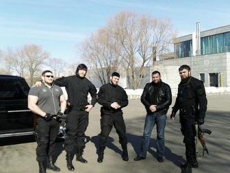 """""""Чеченские террористы"""""""