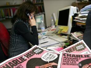 """""""Голубые глаза"""" - свидетельство спасшейся журналистки из Charlie Hebdo"""