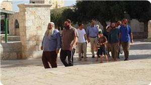 """""""Поселенцы"""" в Аль-Аксе: находясь под охраной, они провоцировали мусульман грязными оскорблениями"""