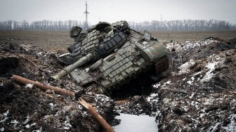 Российская армия в пампасах Донбасса