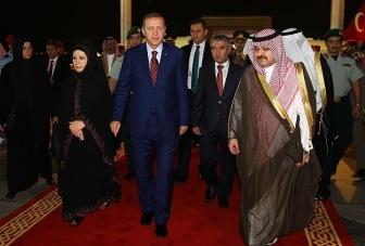 Президент Турции совершил умру