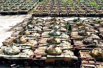Путин решил попугать Европу остатками советских танков