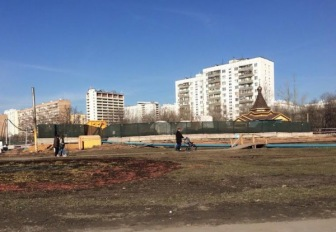 В Москве вместо мечети строят церковь