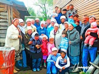 Русские мусульмане помогают ремонтировать сибирскую мечеть