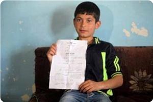 Маразм крепчал. Повестка на допрос 11-летнему палестинцу